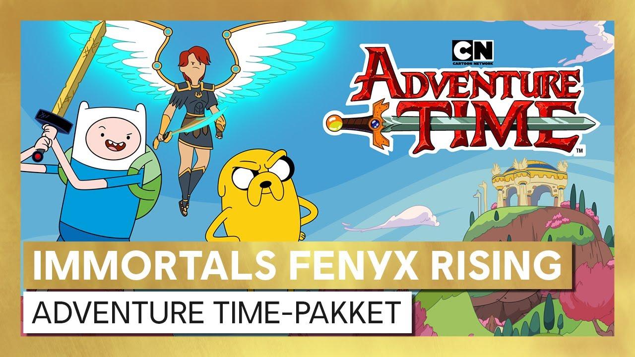 Immortals Fenyx Rising - Adventure Time personagepakket