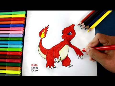 Como Dibujar A Charmeleon Pokemon Go How To Draw Charmeleon
