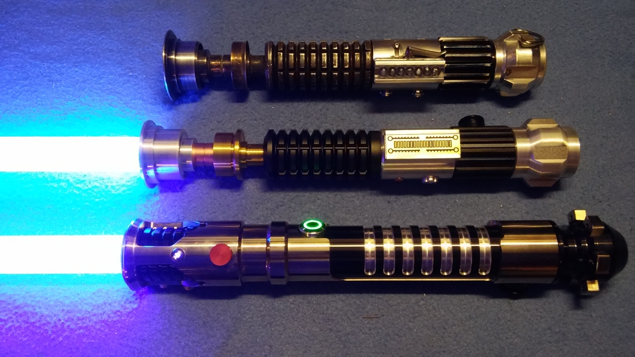 The Lightsabers Of Obi Wan Kenobi Youtube