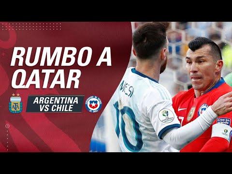 ARGENTINA vs CHILE | Clasificatorias Qatar 2022 - EN VIVO ⚽️🏆