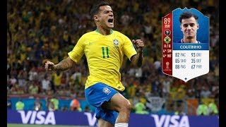 FIFA 18 EA Sports reveals World Cup MOTM Coutinho for Ultimate Team