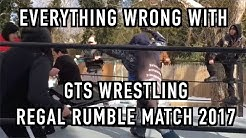 Episode #229: Everything Wrong With GTS Wrestling: REGAL RUMBLE MATCH 2017