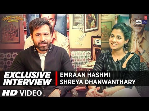 Exclusive Interview:  Emraan Hashmi & Shreya Dhanwanthary |  Cheat India