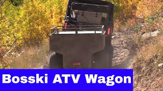 Review of the Bosski 800 AL ATV Wagon