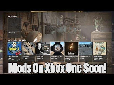 Xbox One Will See Mod Support For Fallout 4 May 19