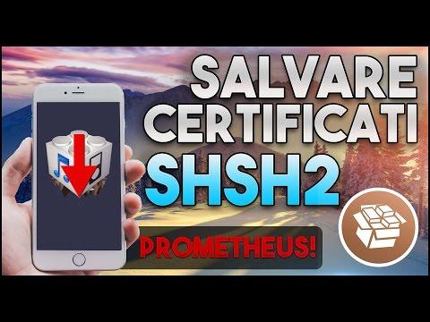 Prometheus: Downgrade a Versioni di iOS NON Firmate! + Salvataggio Certificati SHSH2 per Jailbreak!