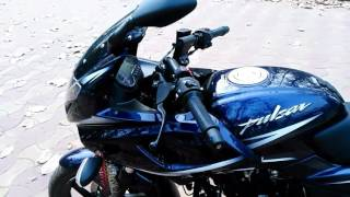 bajaj pulsar 220f bs4 walkaround video