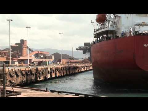 Navios Meridian arrives at Port Kembla
