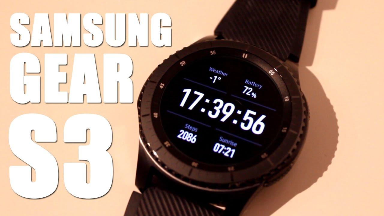 Itt az új Samsung Gear S3 okosóra bf6d5e3d64