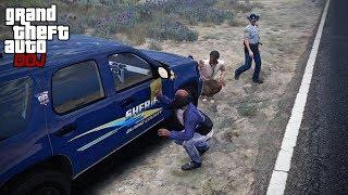 GTA 5 Roleplay - DOJ 221 - Bum Car Wash (Criminal)