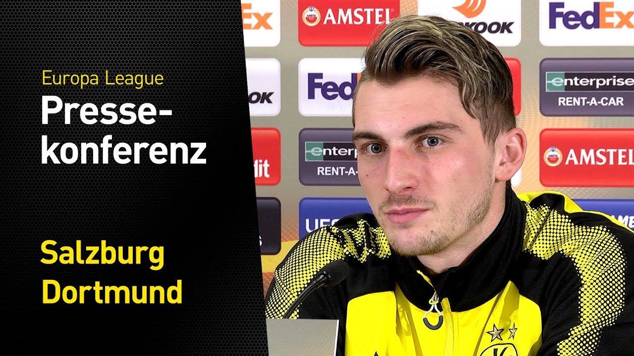 """Mission Viertelfinale   """"Nicht chancenlos, aber...""""   Stöger und Philipp   FC Salzburg - BVB"""