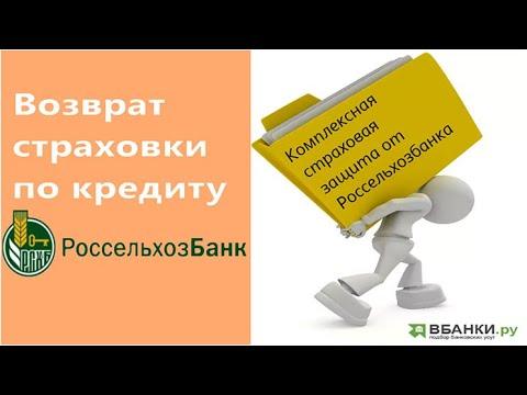 Возврат страховки АО «СК «РСХБ-Страхование» и от АО «АльфаСтрахование»
