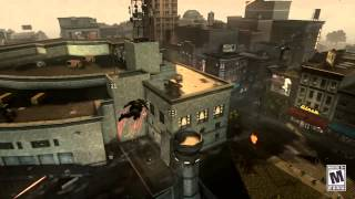 "Prototype 2 ""Gunship Finish - Whip"" Gameplay Trailer"