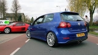 Golf V R32 w/ Milltek Exhaust System - Fast drive by!!