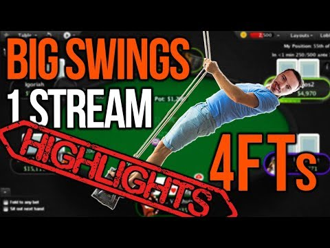 Big swings ! 4 Final Tables !! - Highlights