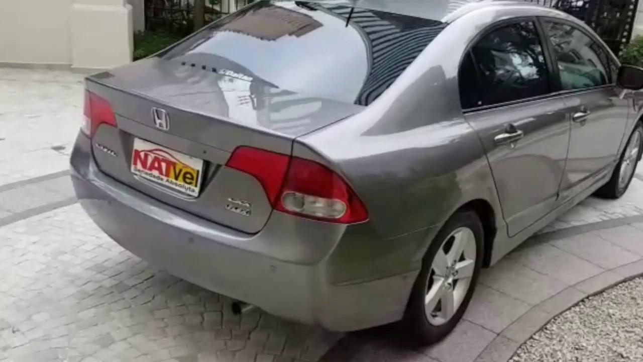 ONDA CIVIC 1.8 LXS 16V FLEX 4P MANUAL 2009/2010 R$ 37.900,00