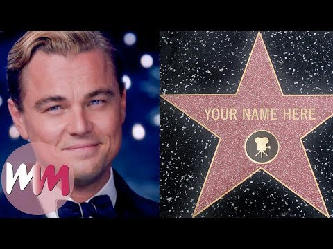 Top 10 Celebs Surprisingly Not On The Hollywood Walk Of Fame