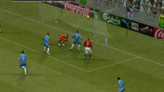Pro Evolution Soccer PES 2009 PC max settings in ATI HD 4670