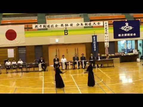枚方市剣道協会 少年大会 日本剣...