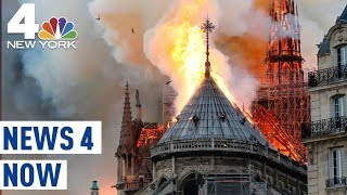 Notre Dame Cathedral Fire Beloved Paris Church Engulfed by Inferno News 4 Now