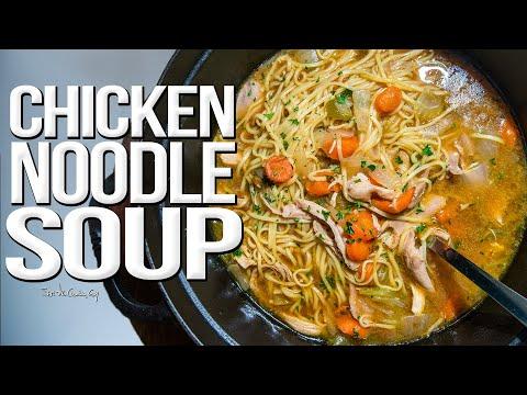 The Best Chicken Noodle Soup I've EVER Made   SAM THE COOKING GUY 4K