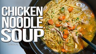 The Best Chicken Noodle Soup I've EVER Made | SAM THE COOKING GUY 4K