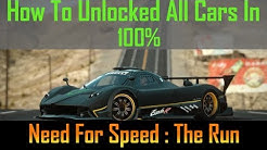 How to unlock all car in NFS The Run (Working 100%) Nov 2018