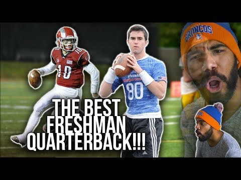 The #1 Freshman Quarterback Is Aaron Rodgers Accurate!!!- Drew Pyne Highlights [Reaction]
