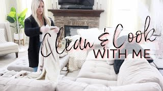 CLEAN AND COOK WITH ME | WEEKEND CLEANING MOTIVATION