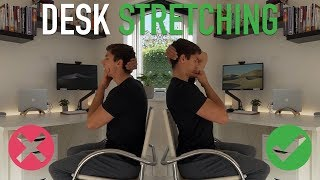 Desk Workers Stretching Routine! (FOLLOW ALONG)