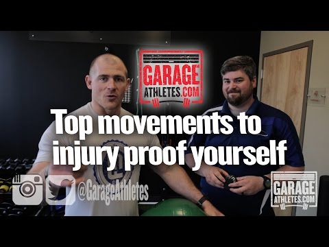 Top exercises to injury proof yourself for CrossFit