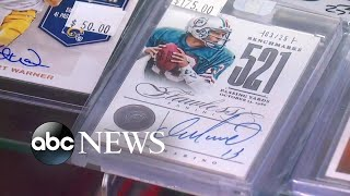 Sports cards see a resurgence during the pandemic