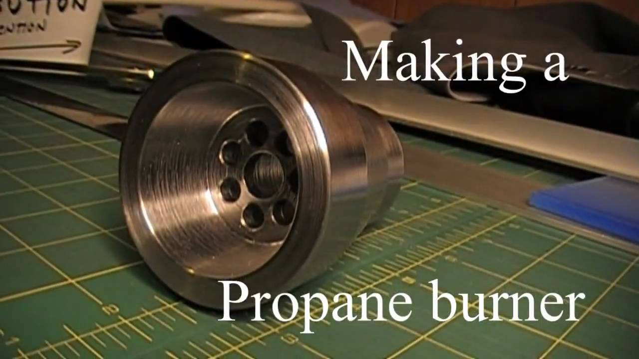 propane burner for my diy foundry - Homemade Propane Forge Design