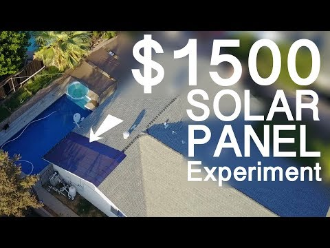 My $1500 Introduction to SOLAR panels