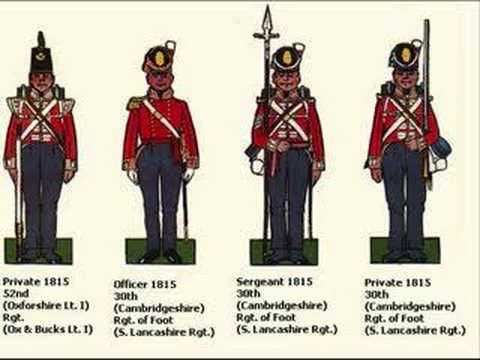 British Empire Infantry Uniforms 1660 - 1897