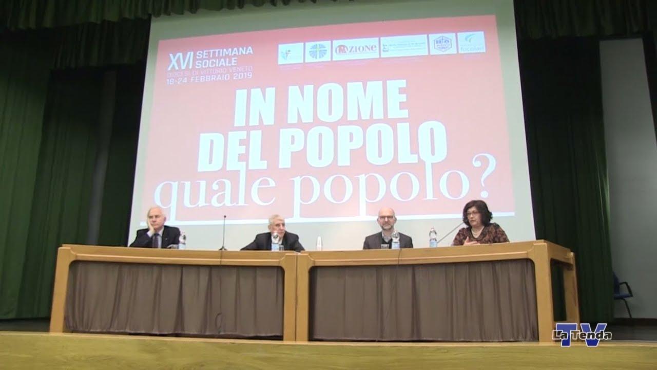 XVI Settimana Sociale 2019 - Paolo Pombeni e Marco Tarquinio