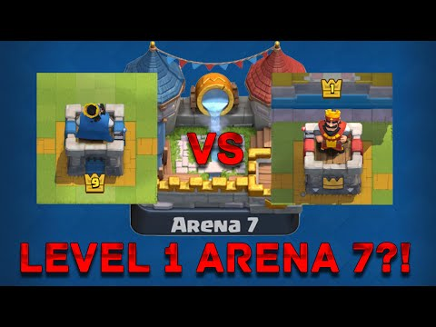 Level 1 Arena 7? | Mégis hogyan?! | Clash Royale Magyarul
