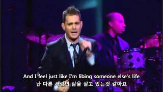 Michael Buble - home live(Korean sub.)