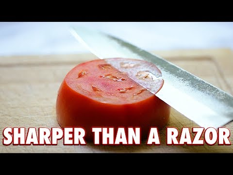 Beginners Guide To Real Knife Sharpening