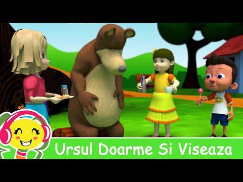 Ursul Doarme Si Viseaza - CanteceGradinita.ro
