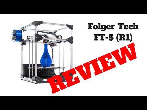 My Folger Tech FT-5 (R1) 3D Printer Review