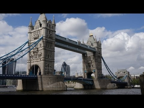 (4K)Travel to London 2014 - Tower Bridge タワーブリッジ