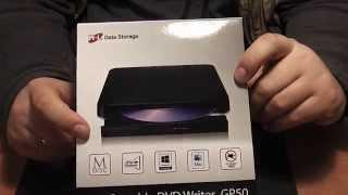 Привод LG GP50 DVD-RW/CD-RW с питанием только от USB - Распаковка(Привод LG GP50 DVD-RW/CD-RW с питанием только от USB Ссылка на PowerBank из видео: http://ali.pub/n40kg Ссылка для тех кому 1800р. дорог..., 2015-03-07T11:44:11.000Z)