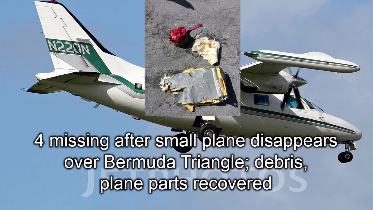 The plane was missing, before the pilot disappeared