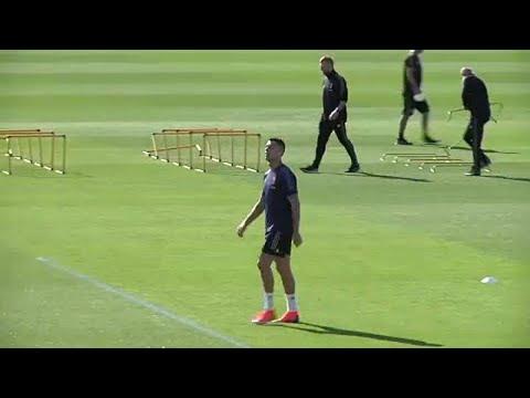 شاهد: يوفنتوس ومانشيستر يونايتد يستعدان للقائهما ضمن دوري أبطال أوروبا…  - نشر قبل 6 ساعة