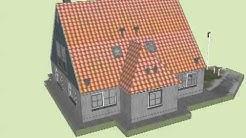 Ferienhaus Duinzicht, Vlieland, Modell für Google Earth