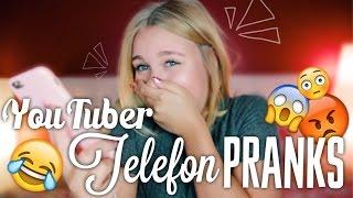 Ausrasten & heulen am Telefon ?! - YOUTUBER TELEFON VERARSCHE #2 | Dagi Bee