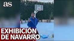 'Voy a sacar la manita a pasear': Navarro avisó y después dio este recital no apto para nostálgicos