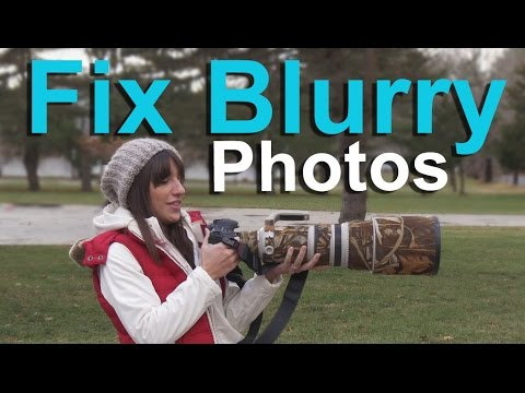 Blurry Pictures--What Causes Them and How to Get Sharp Photos!