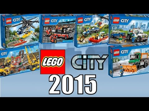 new lego city 2015 official images youtube. Black Bedroom Furniture Sets. Home Design Ideas